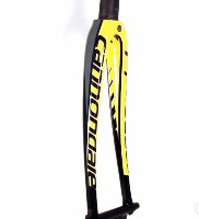 Cannondale SuperSix Yellow Black 45mm Rake Carbon Road Fork
