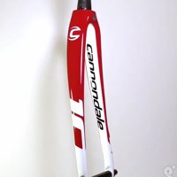 Cannondale CAAD10 Red/White 50mm Rak Carbon Road Fork
