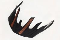 Cannondale Radius Helmet Visor - Black and Orange