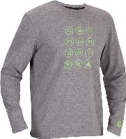 Cannondale CIRCLE LONG SLEEVE TEE GREY Small - 2M146S/GRY