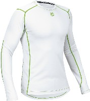 Cannondale BASE LAYER LONG SLEEVE WHITE Small - 2M191S/WHT